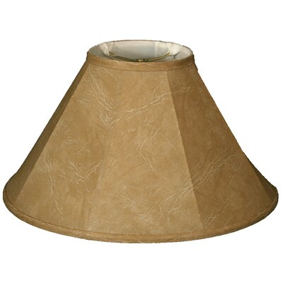 Timeless 22 Faux Leather Empire Lamp Shade