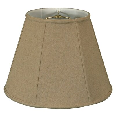 Timeless  22 Linen Empire Lamp Shade Color: Cream