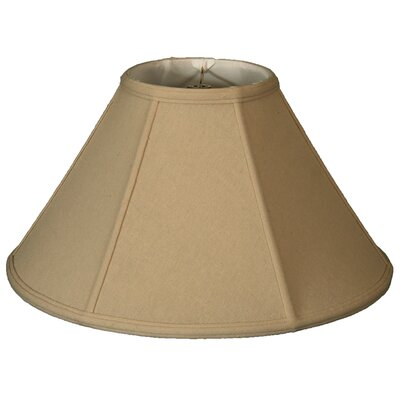 Timeless 18 Linen Empire Lamp Shade Color: Beige