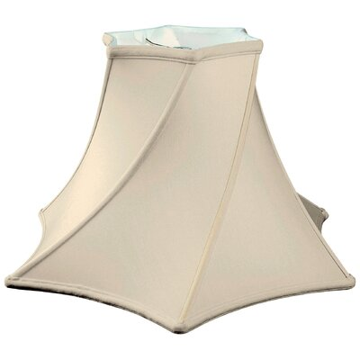 Timeless 16 Silk Novelty Lamp Shade Color: Eggshell