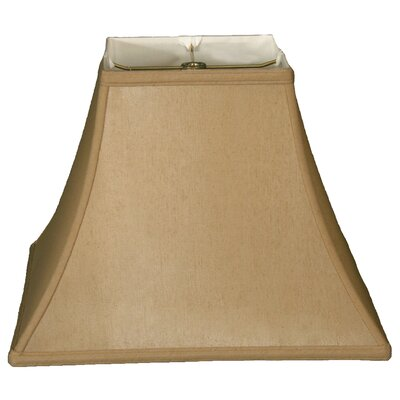 Timeless 10 Silk Bell Lamp Shade Color: Antique Gold/Off White