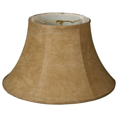 Timeless 11.5 Faux Leather Bell Lamp Shade