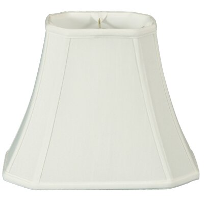 Timeless 20 Silk Bell Lamp Shade Color: White/Off White