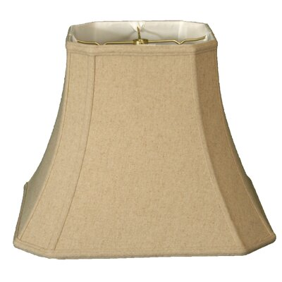 Timeless 16 Linen Bell Lamp Shade Color: Cream