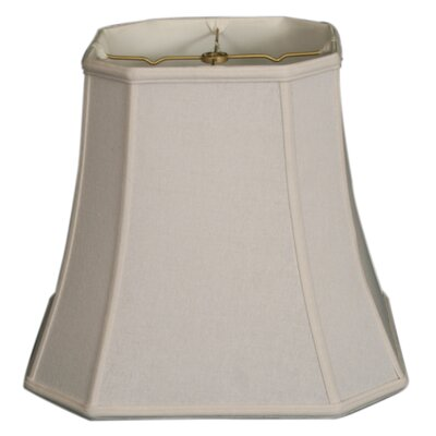Timeless 17 Linen Bell Lamp Shade Color: White