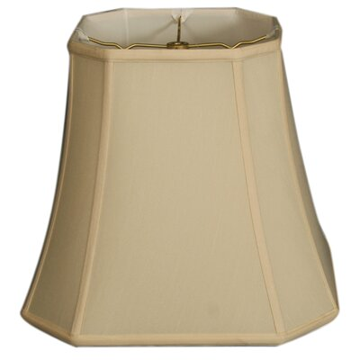 Timeless 15 Silk Bell Lamp Shade Color: Eggshell/Off White
