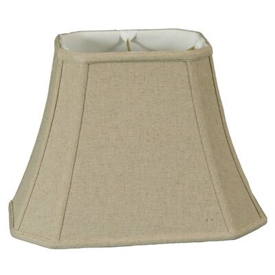 Timeless 14 Linen Bell Lamp Shade Color: Cream