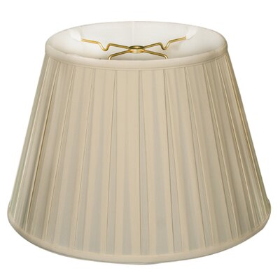 Timeless 19 Silk Empire Lamp Shade Color: Eggshell/Off White