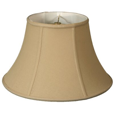 Timeless 13 Linen Bell Lamp Shade Color: Beige