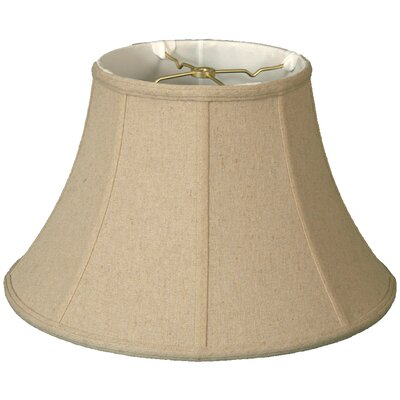 Timeless 16 Linen Bell Lamp Shade Color: Linen Cream