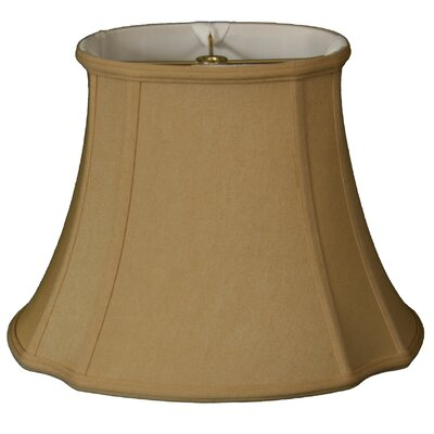 Timeless 15 Silk Bell Lamp Shade Color: Antique Gold