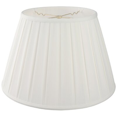 18 Silk/Shantung Empire Lamp Shade Color: White