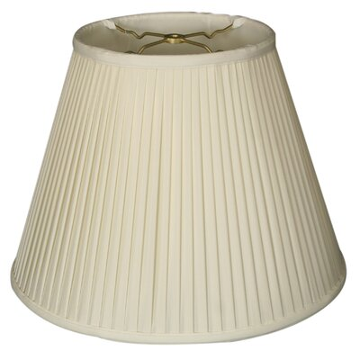 Timeless 14 Silk Empire Lamp Shade Color: White/Off White