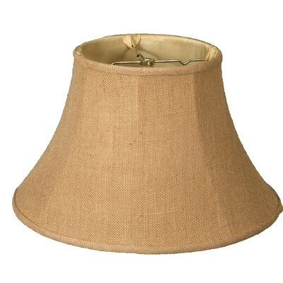 Timeless 18 Burlap Bell Lamp Shade