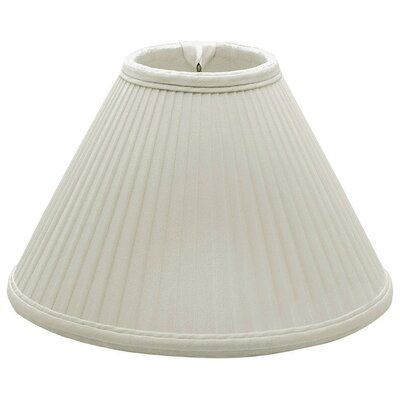 Timeless 13 Silk Empire Lamp Shade Color: White/Off White