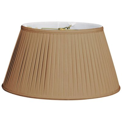 Timeless 17 Silk Empire Lamp Shade Color: Antique Gold/Off White