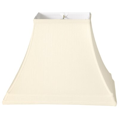 Timeless 16 Silk Bell Lamp Shade Color: Eggshell/Off White