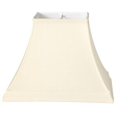 Timeless 14 Silk Bell Lamp Shade Color: Eggshell/Off White