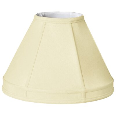 Timeless 14 Silk Empire Lamp Shade Color: Eggshell/Off White