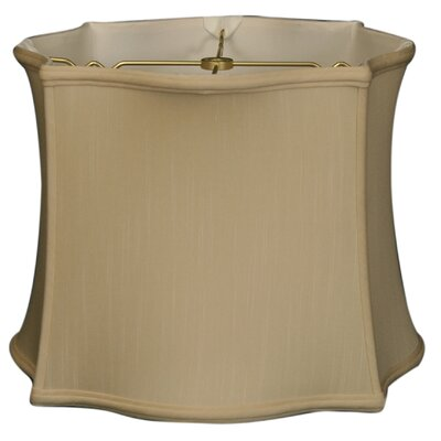 Timeless 15 Silk Novelty Lamp Shade Color: Beige