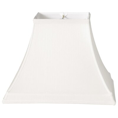 Timeless 12 Silk Bell Lamp Shade Color: White/Off White