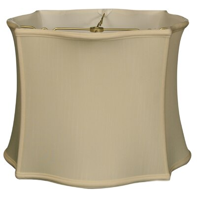 Timeless 14 Silk Novelty Lamp Shade Color: Eggshell