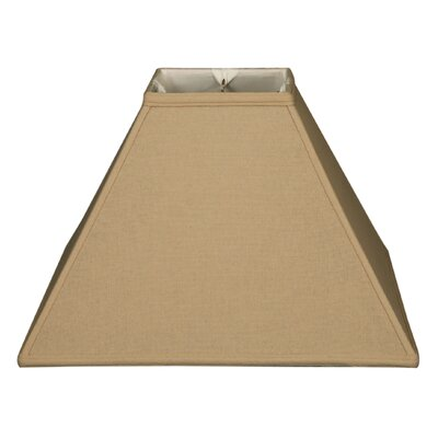 Timeless 16 Linen Empire Lamp Shade Color: Beige
