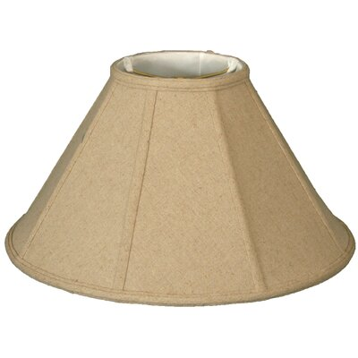 Timeless 18 Linen Empire Lamp Shade Color: Cream
