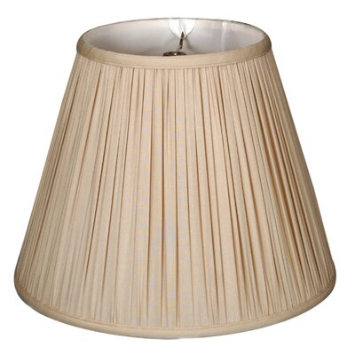 Timeless 20 Silk Empire Lamp Shade Color: Beige/Gold