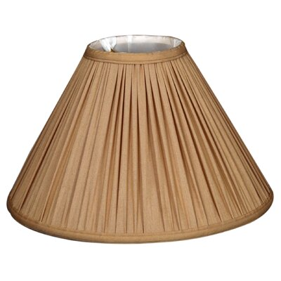 Timeless 13 Silk Empire Lamp Shade Color: Beige
