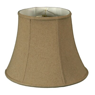 Timeless 16 Linen Bell Lamp Shade Color: Cream/Off White