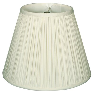 Timeless 20 Silk Empire Lamp Shade Color: White/Off White