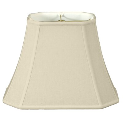 Timeless 18 Linen Bell Lamp Shade Color: Eggshell