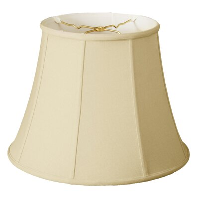 Timeless 15 Linen Bell Lamp Shade Color: Eggshell/Off White