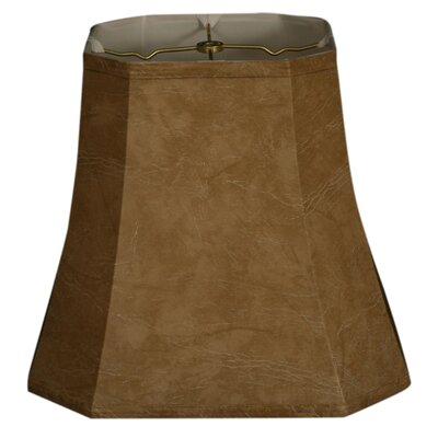 Timeless 15 Faux Leather Bell Lamp Shade