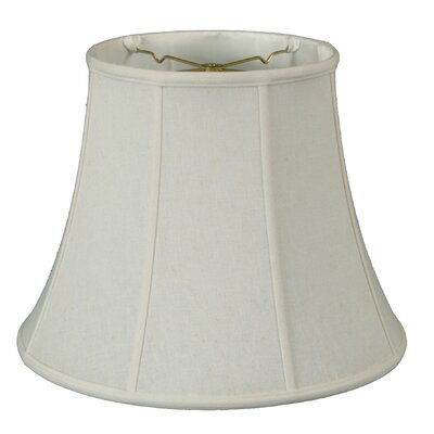 Timeless 14 Linen Bell Lamp Shade Color: White/Off White