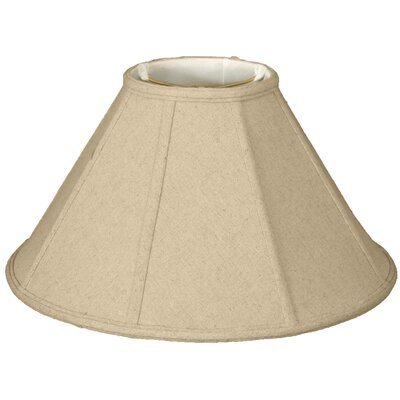 Timeless 20 Linen Empire Lamp Shade Color: Eggshell/Off White