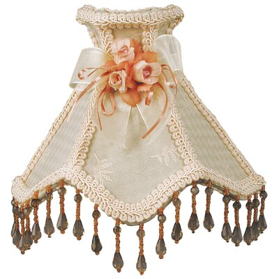 Beaded Victorian Night Light Color: Cream