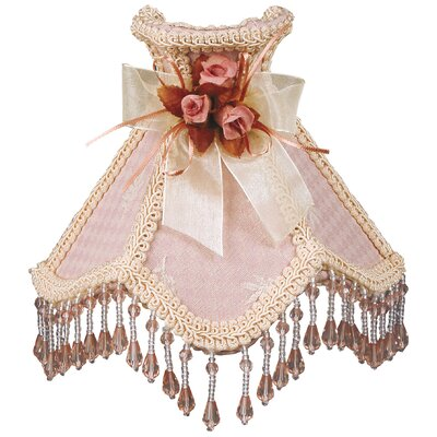 Beaded Victorian Night Light Color: Pink