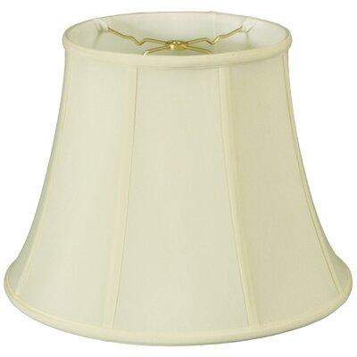 Regal 18 Silk/Shantung Bell Lamp Shade Color: Eggshell