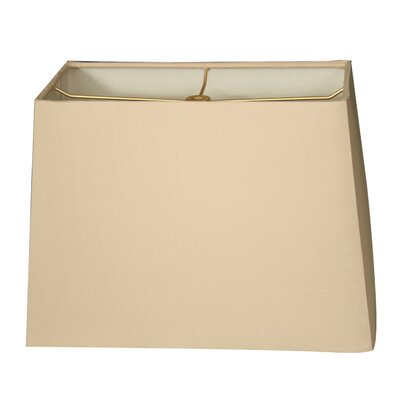 Timeless 8 Shantung Rectangular Lamp Shade Color: Beige