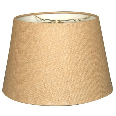 Timeless Tapered 18 Burlap Empire Lamp Shade
