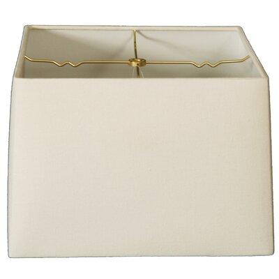 Timeless 14 Linen Square Lamp Shade Color: Linen Eggshell