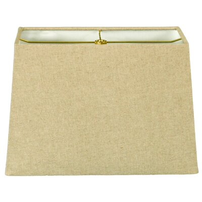 Timeless 8 Linen Rectangular Lamp Shade Color: Linen Cream