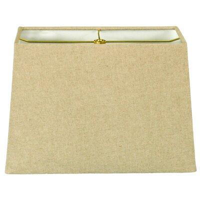 Timeless 8 Linen Rectangular Lamp Shade Color: Linen Cream