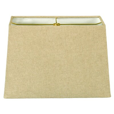 Timeless 10 Linen Rectangular Lamp Shade Color: Linen Cream