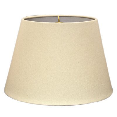 Timeless Tapered 20 Linen Empire Lamp Shade Color: Linen Eggshell