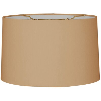 Timeless 14 Linen Drum Lamp Shade Color: Antique Gold