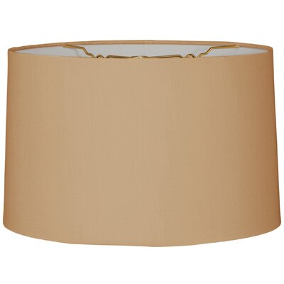 Timeless 10 Linen Drum Lamp Shade Color: Antique Gold