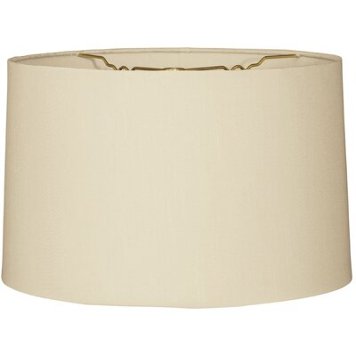 Timeless 10 Linen Drum Lamp Shade Color: Beige